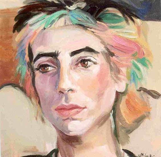 Maryamme Ortega - oil on canvas